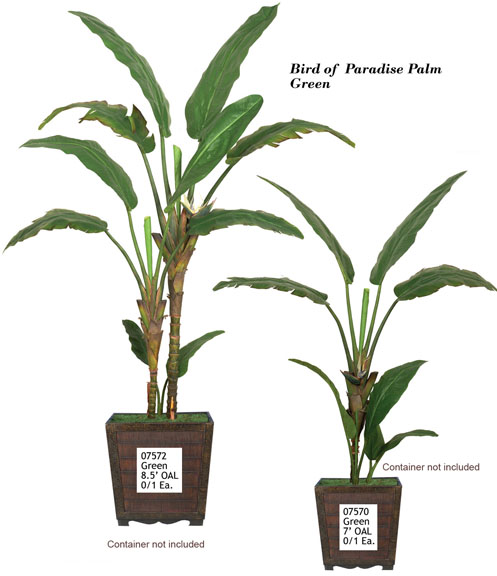 Artificial Foliage Greenery Tropical Trees